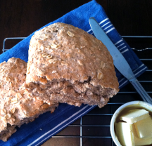 Piece of Cake - Honey Oatmeal Bread