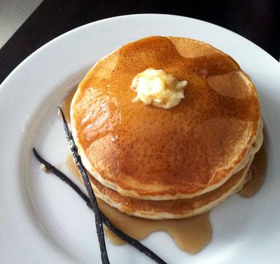 Vanilla Bean Pancakes