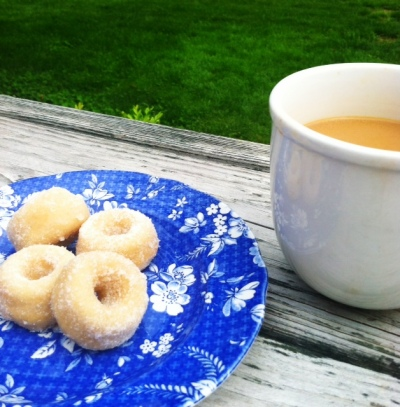 Coconut Mini Donuts with Vanilla Scented Sugar 2