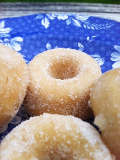 Coconut Mini Donuts with Vanilla Scented Sugar 1