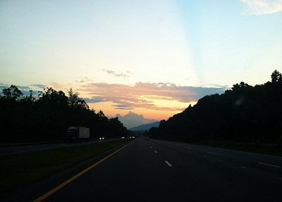 Road Trip - Asheville Sunset